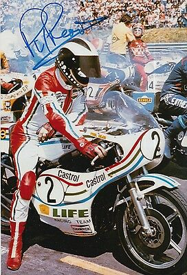Phil Read Hand Signed Isle of Man TT 12x8 Photo MOTOGP 1.