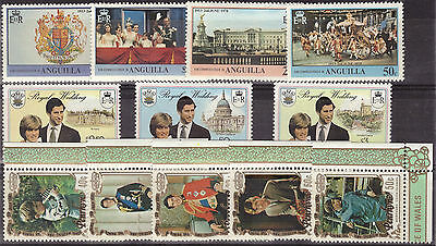 ANGUILLA . Royal Wedding. Unordered. MNH**. Very Good Condition