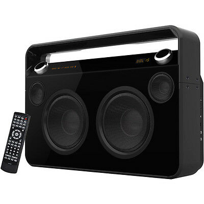SuperSonic Bluetooth Boombox, Black