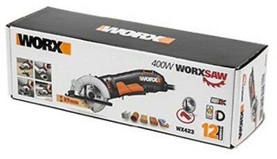 Worx Multi-purpose Mini Hand Held Plunge Circular Saw 400W *NEW & VAT RECEIPT*