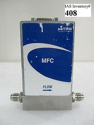 MKS GE50A001203RBV010 Mass Flow Controller 2000 sccm He (Working, Warranty)