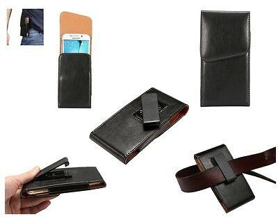 for HTC DESIRE 620G D620H (2014) Holster Executive 360° Belt Clip Rotary Magn...