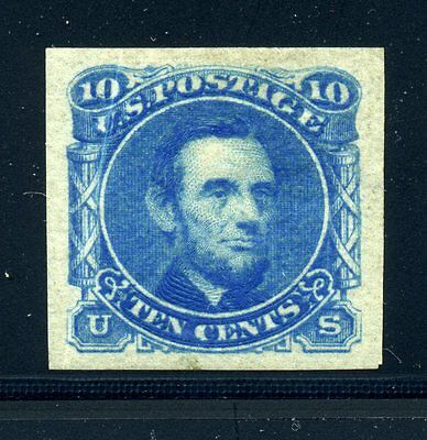 Scott #116-E1k Lincoln Plate Essay Mint Stamp on Stamp Paper (Stock #116-E2)