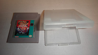 Double Dragon (Nintendo Game Boy, 1990) w/ Instruction Manual