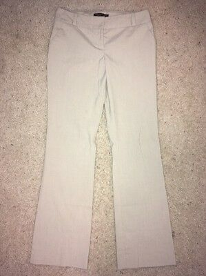 Women's The Limited Cassidy Fit Beige Dress Pants Size 6R