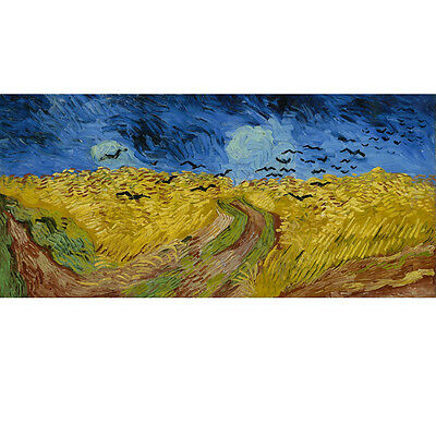 VAN GOGH MODERN ABSTRACT HUGE WALL ART OIL PAINTING ON CANVAS (NO frame)