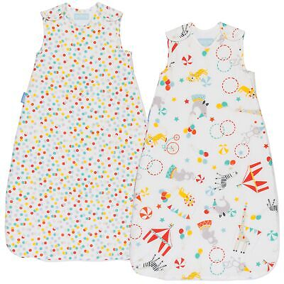 The Gro Company Grobag Day & Night Roll Up Twin Pack 18-36 Months 1.0 & 2.5 Tog