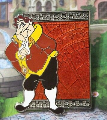 Disney Beauty and the Beast Reveal Conceal Human Cogsworth Pin 119181