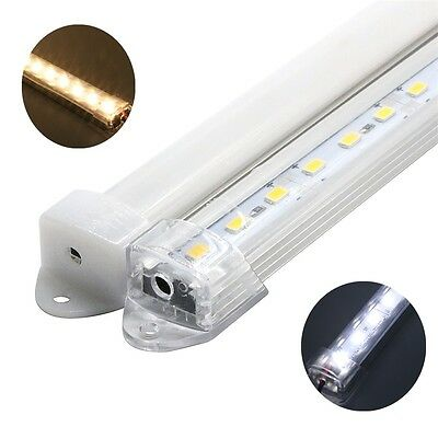 5pcs 5630 50cm 12V DC 36leds Bar Rigid Strip Light U Aluminum Shell SMD+PC Cover