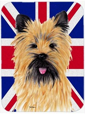 Carolines Treasures SC9832LCB Cairn Terrier With English Union Jack British