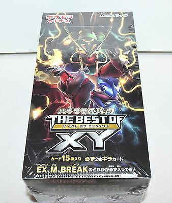 Pokemon Card Game High Class Pack THE BEST OF XY BOX Booster Pack Japanese Card