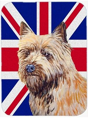 Carolines Treasures LH9472LCB Cairn Terrier With English Union Jack British