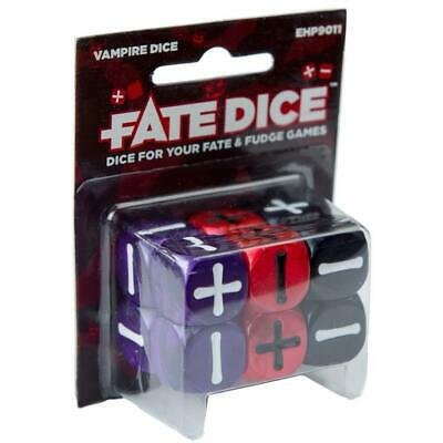 Fate Dice: Vampire Dice High Quality Evil Hat Productions, LLC EHP9011
