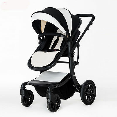 LUXURY baby stroller foldable jogger Carriage Infant Travel system pushchair new