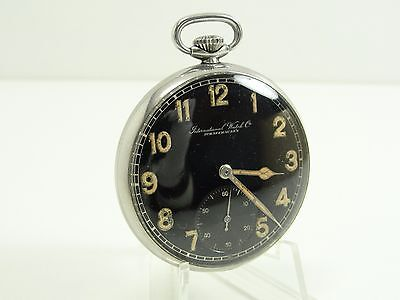 International Watch Co Schaffhausen Taschenuhr Handaufzug Metall Vintage Pocket
