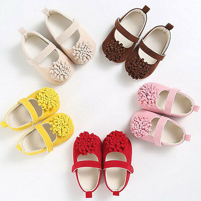 Baby Girl Shoes Toddler First Walker Newborn Comfortable Soft Sole Canvas Sandal
