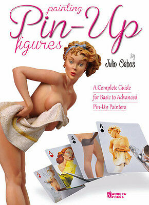 Andrea Press Painting Pin-Up figures Paperback Book Julio Cabos