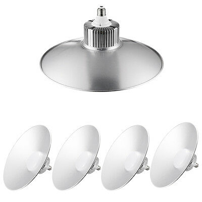 5pcs 100W E27 LED High Bay Light Commercial Industrial Warehouse Factory Lights