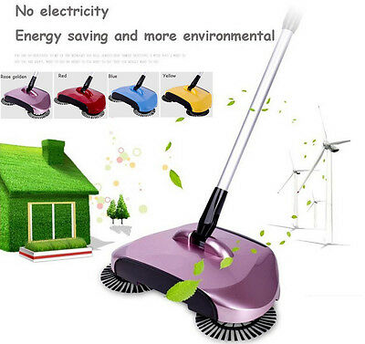 Automatic 360 Rotary Home Use Magic Hand Push Telescopic Floor Dust Sweeper Gift
