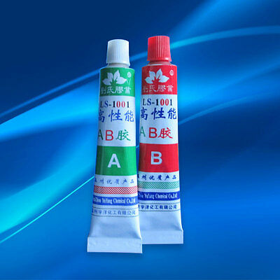 A+B Epoxy Resin Adhesive Glue with Stick Spatula For Bond Metal Wood Repair