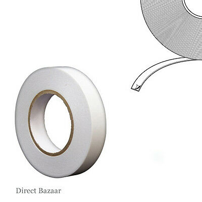 50m Long Clear Double Sided Polyester Tape, Thin General Purpose Tape
