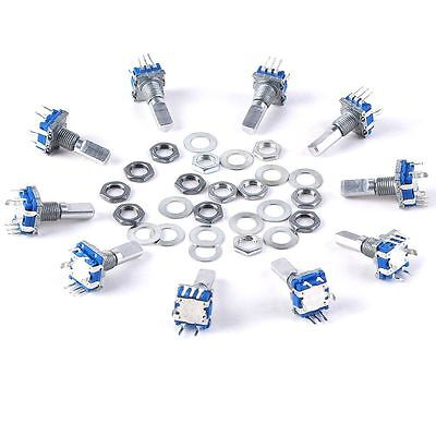Best 12mm 10pcs Rotary Encoder Push Button Switch Keyswitch Electronic Component