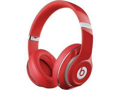 Beats by Dr. Dre Studio 2.0 Wired Over-Ear Headphone (Red) - A Grade Recertified