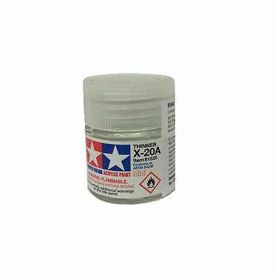 Tamiya X20A Diluente Per Colori Acrilici Thinner 10 Ml Art 81520