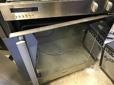 St George Side Opening 60CM Wall Oven Stainless Steel Self Cleaning 8600100RS