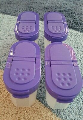 4 herb tupperware containers never used