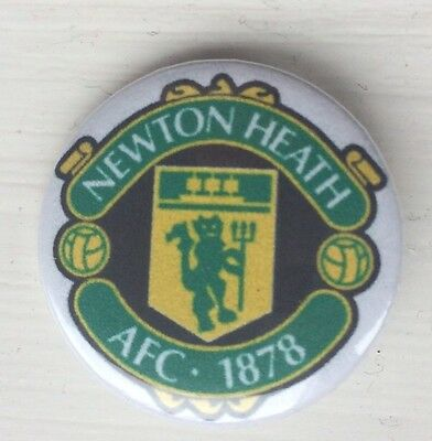 Manchester United FC Football Club Newton Heath Pin Badge Man Utd