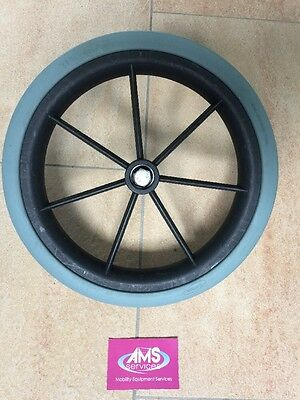 Lomax Wheelchair Standard Rear Wheel With Solid Tyre 315mm ( 12.5in ) Parts L10