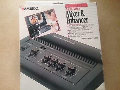 Ambico Audio Video Enhancer With Stereo Soundtrack Audio Mixer Model V-6310