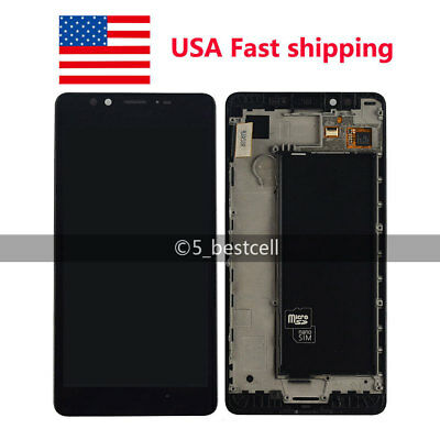 Microsoft Lumia 950 Touch Screen Digitizer + LCD Display Assembly With frame USA