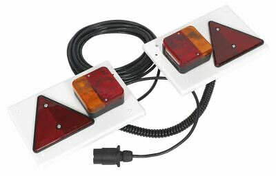 Sealey TB0212 Lighting Board Set 2pc with 10mtr Cable 12V Plug