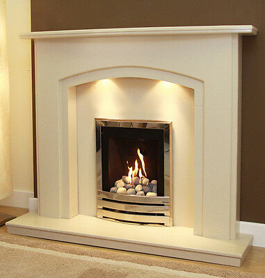 Fireplace Offer Surround Marble Set And Gas Or Electric