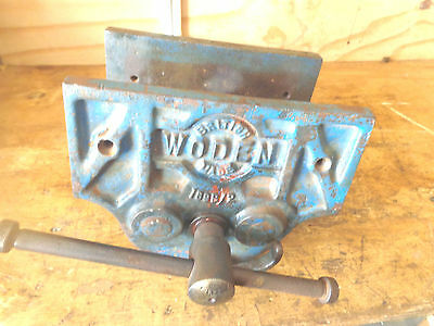 """Woden 9"""" jaws large woodworking British vice"""
