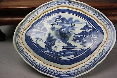 18th/19th C. Chinese Blue and White Tureen And Cover