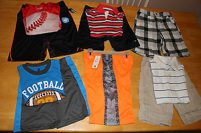 Huge lot of boys clothes size 6 to 8 Abercrombie, Gymboree & Some NWT &