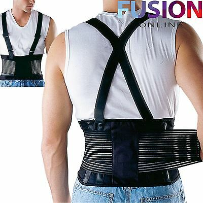 Lower Back Support Belt Adjustable Pain Relief Lumbar Sports Brace Therapy