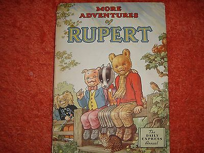 1953 Rupert Bear Annual  -  Unclipped 4/-