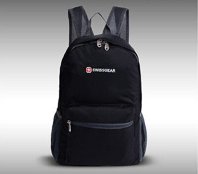 SwissGear foldable backpack Shoulder Waterproof bag sports outdoor backpack