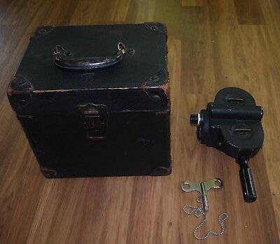 "Bell & Howell Filmo 16mm camera w/key & Taylor-Hobson Cooke 1"" f1.8 Lens & Case"