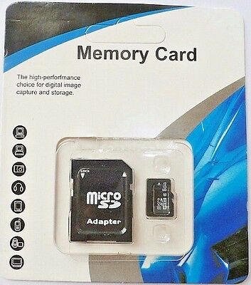 Sd Memory Card 32Gb Class 10 Micro Sfhc Mini With Adapter For Most Brands