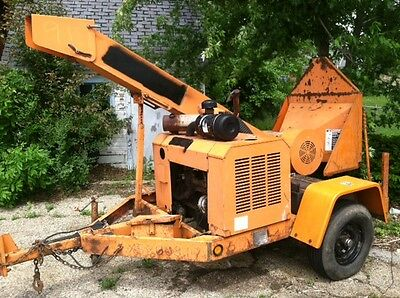 Used 1999 Woodchuck Wc12A Drum Wood Chipper With 6 Cyl Ford Gas Engine