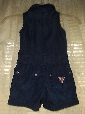 Guess Jeans Size 4 Shorts Romper