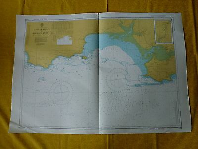 Linney Head To Oxwich Point Nautical Sea Ground Map - 1076