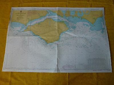 Outer Approaches To The Solent Nautical Sea Ground Map - 2045