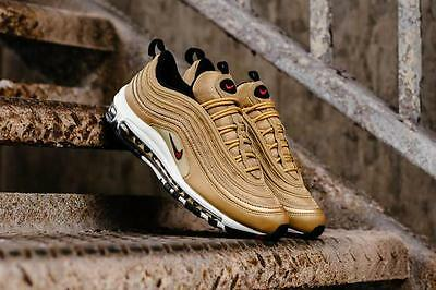 huge discount bcb69 53cd1 2017 NIKE AIR Max 97 Og 'Metallic Gold' 884421 700 Us Mens Sz 6-12