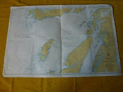 Approaches To The Firth Of Lorne Nautical Sea Ground Map - 2169